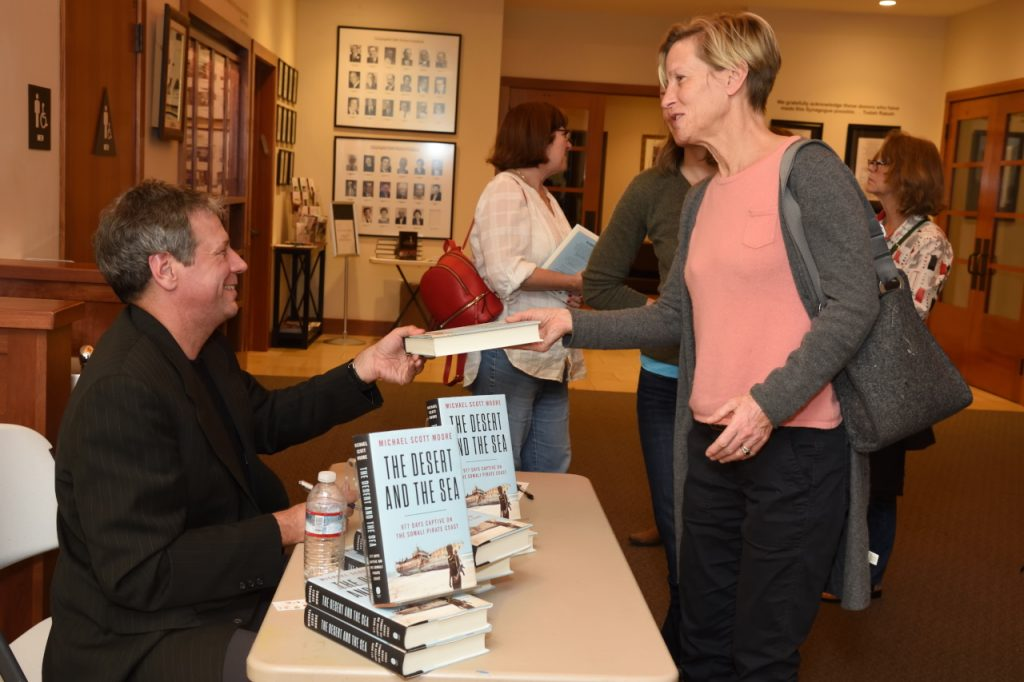 Michael Scott Moore Book SIgning